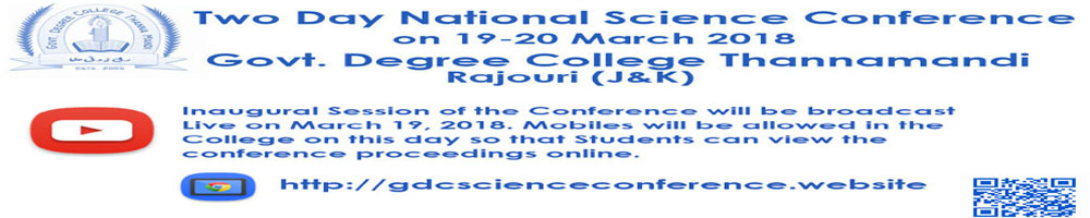 Two Days National Science Conference